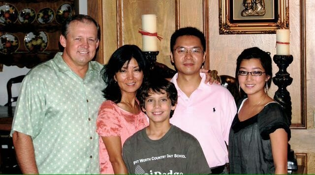 Michael Su with Markwardt Family