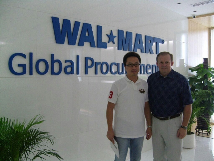 Mike with Walmart Global Procurement